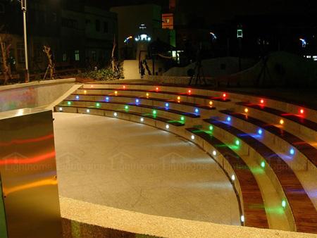 چراغ های LED دفنی