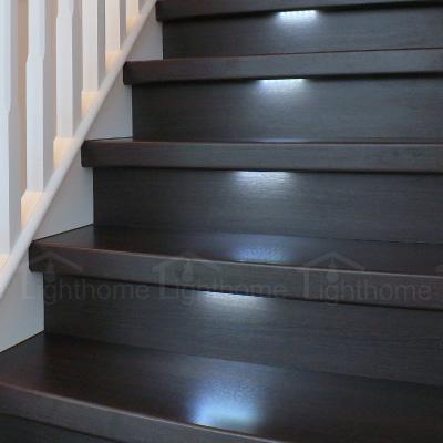چراغ های زیر پله